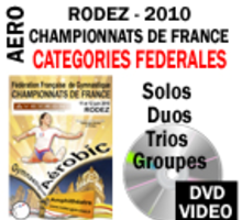 DVD RODEZ 2010  PACK FEDERALES 4 DVD