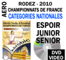 DVD RODEZ 2010  PACK NATIONALES 2 DVD