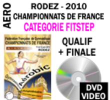 DVD RODEZ 2010  FIT STEP 1 DVD