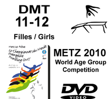 Double Mini-Tramp Girls age 11-12 - Qualifications + Finals