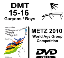 Double Mini-Tramp Boys age 15-16 - Qualifications + Finals