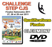 CHALLENGE STEP CJS - QUALIFICATIONS + FINALES - Clermont-Ferrand 2011