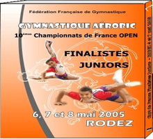 DVD-Finales Open Junior Rodez 2005