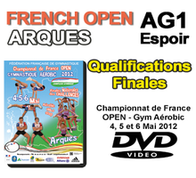 FRENCH OPEN AG1 - QUALIFICATIONS + FINALES - Arques 2012