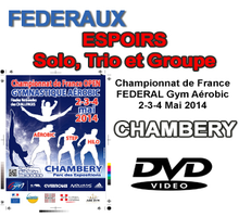 FEDERAUX ESPOIRS - Solo, Trio et Groupe - Chambery 2014